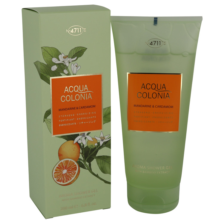 4711 Acqua Colonia Mandarine & Cardamom by Maurer & Wirtz Shower gel 6.8 oz Women