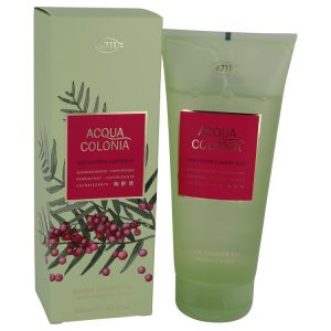 4711 Acqua Colonia Pink Pepper & Grapefruit by Maurer & Wirtz Shower Gel 6.8 oz Women