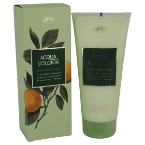 4711 Acqua Colonia Blood Orange & Basil by Maurer & Wirtz Body Lotion 6.8 oz Women