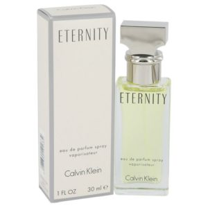 ETERNITY by Calvin Klein Eau De Parfum Spray 1 oz Women