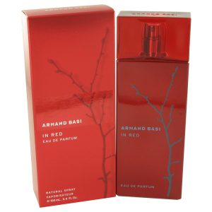 Armand Basi in Red by Armand Basi Eau De Parfum Spray 3.4 oz Women