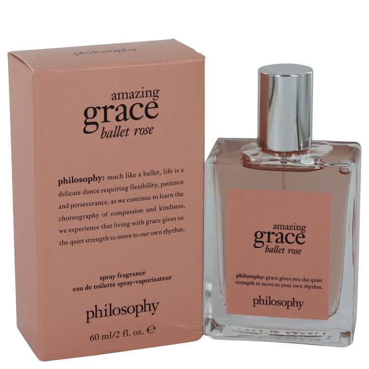 Amazing Grace Ballet Rose by Philosophy Eau De Toilette Spray 2 oz Women
