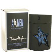 ANGEL by Thierry Mugler Eau De Toilette Spray Refillable (Rubber) 3.4 oz Men