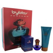 BYBLOS by Byblos Gift Set -- 1.68 oz Eau De Parfum Spray + 6.75 Body Lotion Women