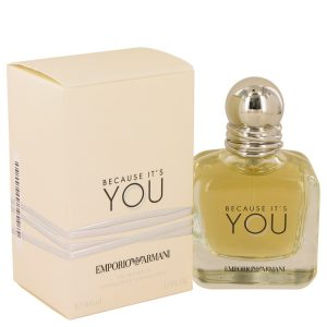 Because It's You by Emporio Armani Eau De Parfum Spray 1.7 oz Women