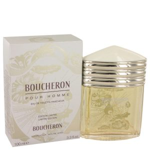 BOUCHERON by Boucheron Eau De Toilette Fraicheur Spray (Limited Edition) 3.4 oz Men