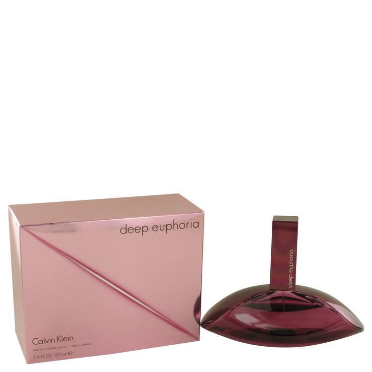 Deep Euphoria by Calvin Klein Eau De Toilette Spray 3.4 oz Women