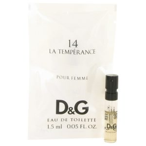 La Temperance 14 by Dolce & Gabbana Vial (Sample) .05 oz Women