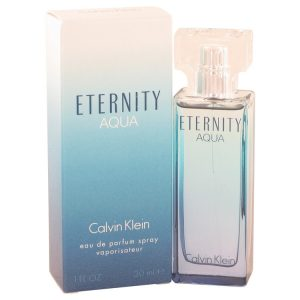 Eternity Aqua by Calvin Klein Eau De Parfum Spray 1 oz Women
