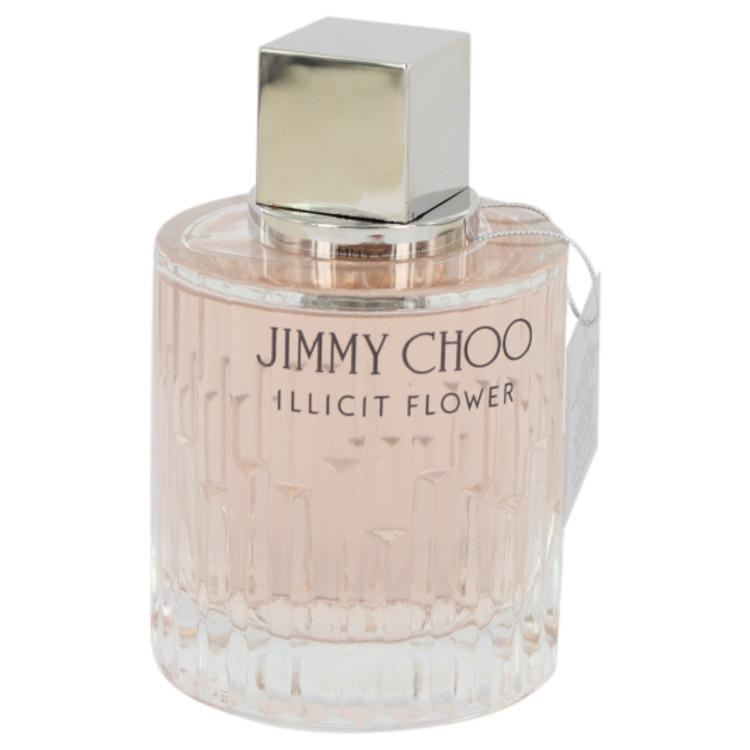 Jimmy Choo Illicit Flower by Jimmy Choo Eau De Toilette Spray (Tester) 3.3 oz Women