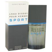 L'eau D'Issey Pour Homme Sport by Issey Miyake Eau De Toilette Spray 3.4 oz Men