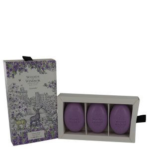 Lavender by Woods of Windsor Fine English Soap 3 x 60 g Women