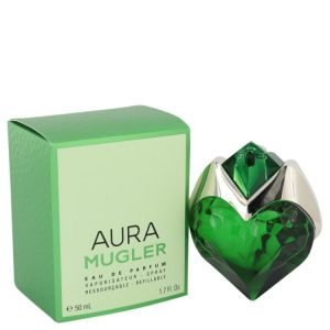 Mugler Aura by Thierry Mugler Eau De Parfum Spray Refillable 1.7 oz Women