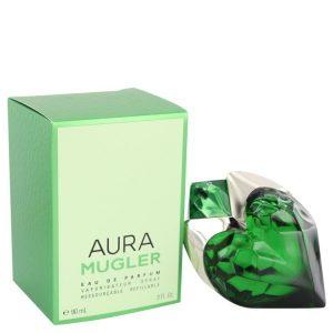 Mugler Aura by Thierry Mugler Eau De Parfum Spray Refillable 3 oz Women