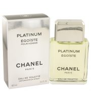 EGOISTE PLATINUM by Chanel Eau De Toilette Spray 3.4 oz Men