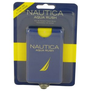 Nautica Aqua Rush by Nautica Eau De Toilette Travel Spray .67 oz Men