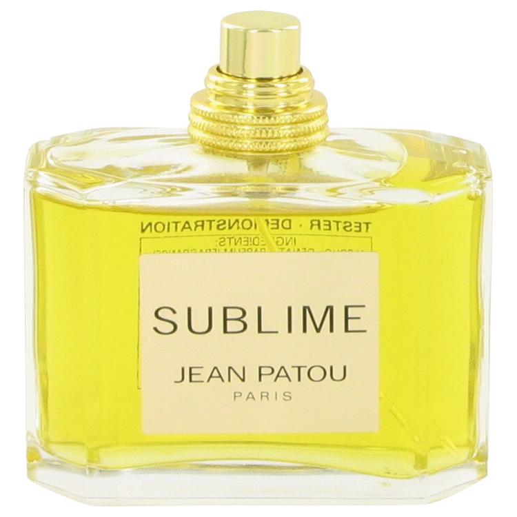 SUBLIME by Jean Patou Eau De Parfum Spray (Tester) 2.5 oz Women