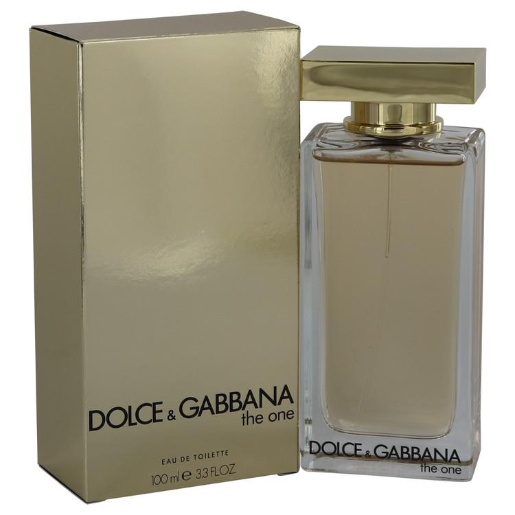 The One by Dolce & Gabbana Eau De Toilette Spray (New Packaging) 3.3 oz Women