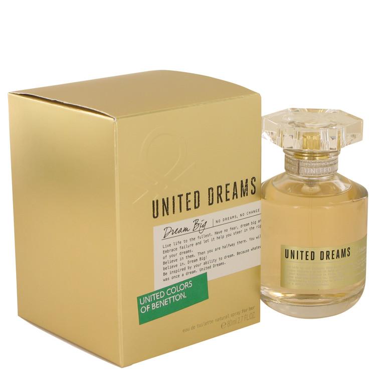 United Dreams Dream Big by Benetton Eau De Toilette Spray 2.7 oz Women