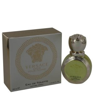 Versace Eros by Versace Eau De Toilette Spray 1 oz Women