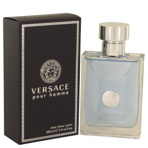 Versace Pour Homme by Versace After Shave Lotion 3.4 oz Men