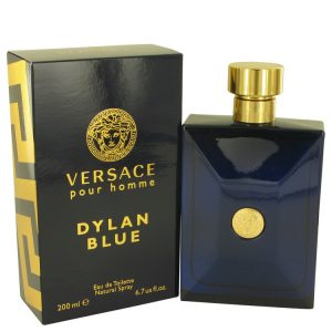 Versace Pour Homme Dylan Blue by Versace Eau De Toilette Spray 6.7 oz Men