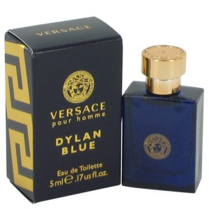 Versace Pour Homme Dylan Blue by Versace Mini EDT .17 oz Men