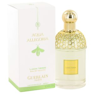 AQUA ALLEGORIA Limon Verde by Guerlain Eau De Toilette Spray 4.2 oz Women