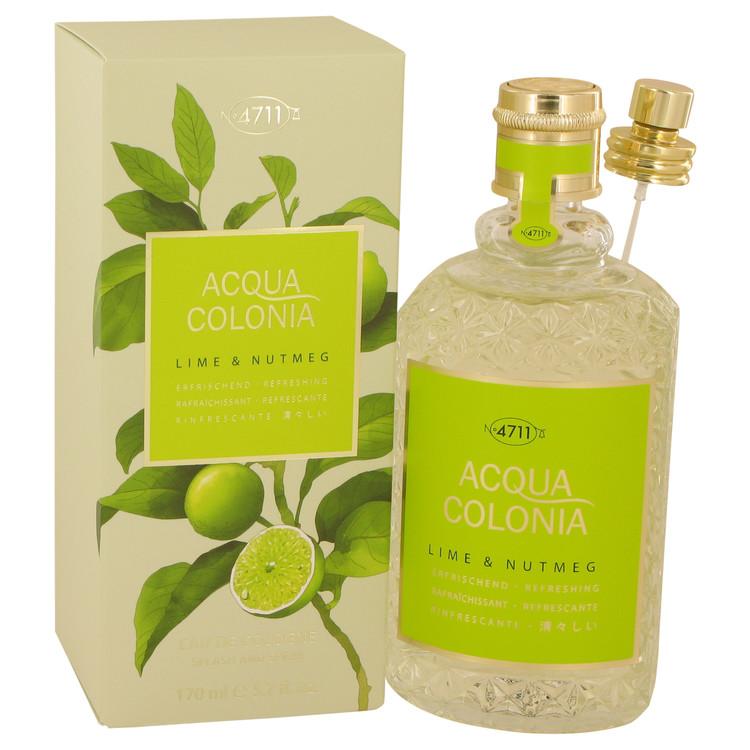 4711 Acqua Colonia Lime & Nutmeg by Maurer & Wirtz Eau De Cologne Spray 5.7 oz Women