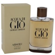 Acqua Di Gio Absolu by Giorgio Armani Eau De Parfum Spray 4.2 oz Men