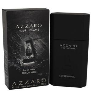Azzaro Pour Homme Edition Noire by Azzaro Eau De Toilette Spray 3.4 oz Men