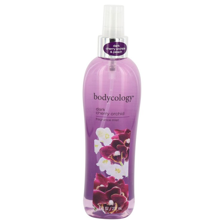 Bodycology Dark Cherry Orchid by Bodycology Fragrance Mist 8 oz Women