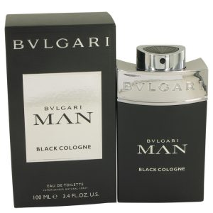 Bvlgari Man Black Cologne by Bvlgari Eau De Toilette Spray 3.4 oz Men