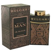 Bvlgari Man in Black Essence by Bvlgari Eau De Parfum Spray 3.4 oz Men