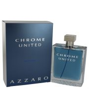Chrome United by Azzaro Eau De Toilette Spray 6.8 oz Men