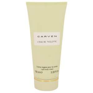 Carven L'eau De Toilette by Carven Body Cream 3.3 oz Women