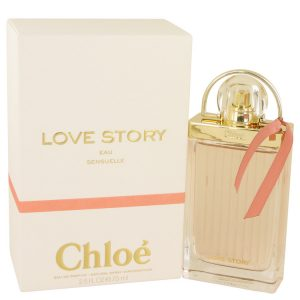 Chloe Love Story Eau Sensuelle by Chloe Eau De Parfum Spray 2.5 oz Women