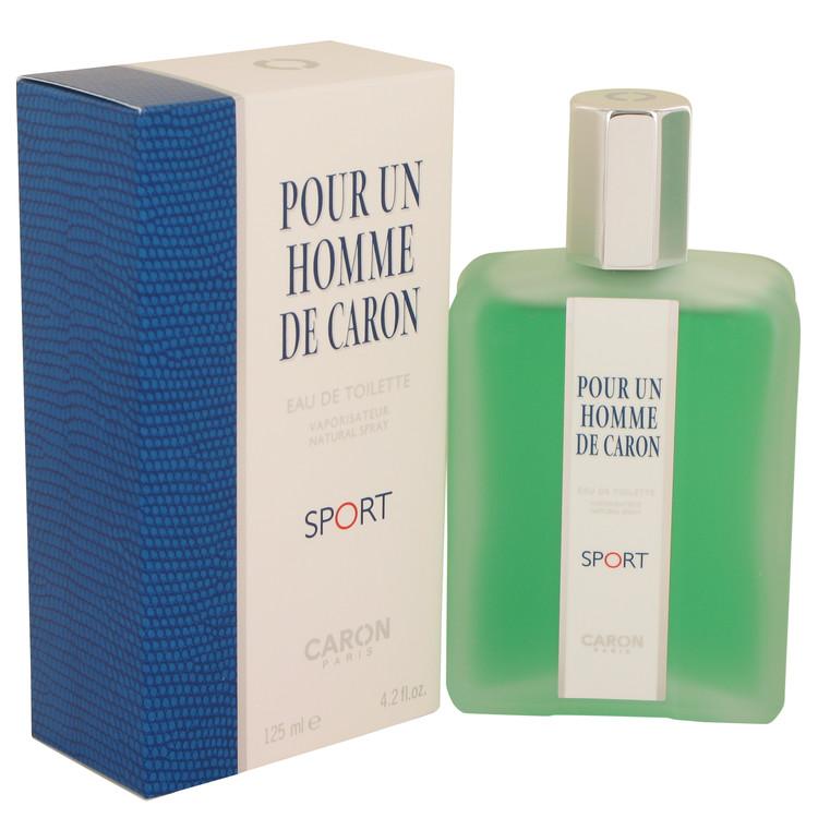 Caron Pour Homme Sport by Caron Eau De Toilette Spray 4.2 oz Men