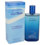 Cool Water Caribbean Summer by Davidoff Eau De Toilette Spray 4.2 oz Men