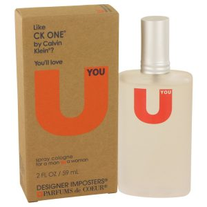 Designer Imposters U You by Parfums De Coeur Cologne Spray (Unisex) 2 oz Women