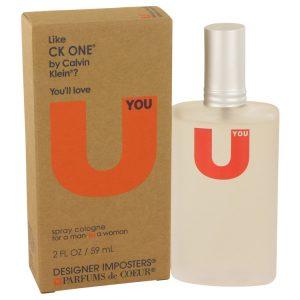 Designer Imposters U You by Parfums De Coeur Cologne Spray (Unisex) 2 oz Women