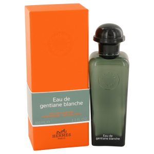 Eau De Gentiane Blanche by Hermes Eau De Cologne Spray (Unisex) 3.3 oz Men