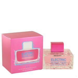 Electric Seduction Blue by Antonio Banderas Eau De Toilette Spray 3.4 oz Women