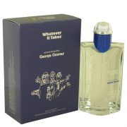 Whatever It Takes George Clooney by Whatever it Takes Eau De Toilette Spray 3.4 oz Men