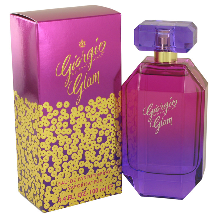 Giorgio Glam by Giorgio Beverly Hills Eau De Parfum Spray 3.4 oz Women