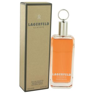 LAGERFELD by Karl Lagerfeld Eau De Toilette Spray 3.3 oz Men