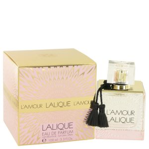 Lalique L'amour by Lalique Eau De Parfum Spray 3.3 oz Women
