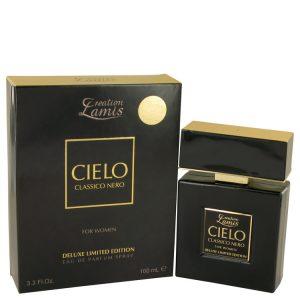 Lamis Cielo Classico Nero by Lamis Eau De Parfum Spray Deluxe Limited Edition 3.3 oz Women