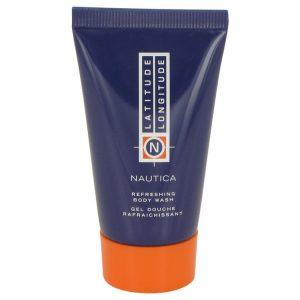 LATITUDE LONGITUDE by Nautica Body Wash Shower Gel 1 oz Men