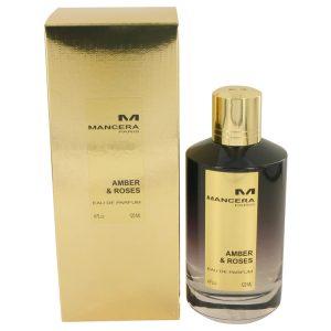 Mancera Amber & Roses by Mancera Eau De Parfum Spray (Unisex) 4 oz Women